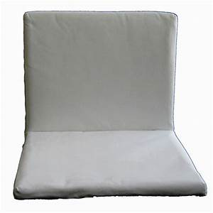 Coussin D Assise Pour Banc : coussin d 39 assise en tissu pour fauteuil et banc dorio cru gris orange rd italia decoclico ~ Teatrodelosmanantiales.com Idées de Décoration