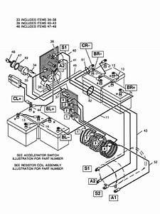 1989 Electric Ezgo Electric Marathon Resistor Wiring Diagrams
