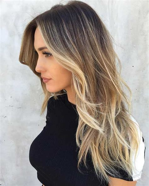 long layered haircut with highlights and styled with ruffing 51 beautiful long layered haircuts stayglam