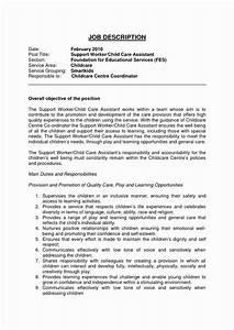 Child Care Director Job Descriptions Child Care Job Description Resume Elegant Child Care
