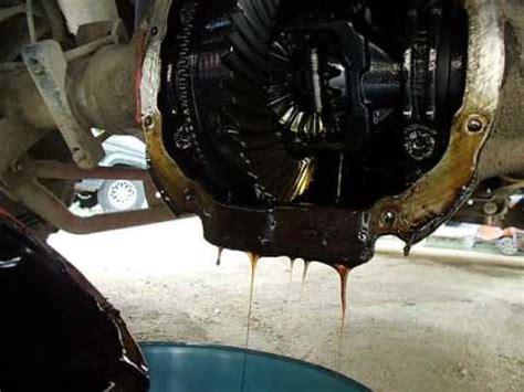 como sacar el aceite del diferencial ford ranger youtube