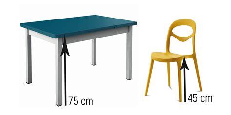 quelle hauteur de chaises et tabourets choisir en fonction de sa table you