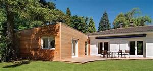 extension de maison en bois ooreka With plan maison en longueur 2 extension de maison traditionnelle pour agrandir sa maison