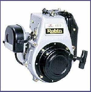 Subaru Robin Ec12 Oil Mix  U0026 Oil Injection Engine Service