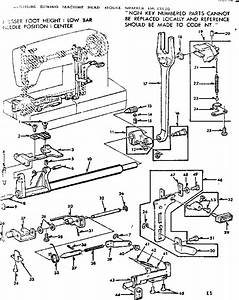 Kenmore Model 15813520 Mechanical Sewing Machines Genuine