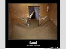 I Hate Sand by pauljohnson Meme Center