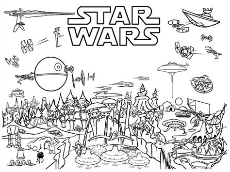 printable star wars coloring pages  printable
