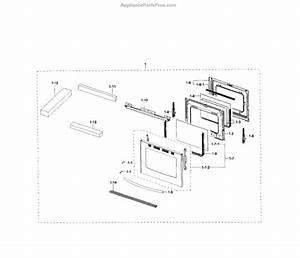 Parts For Samsung Nx58h5600ss  Aa-0000  Door Parts