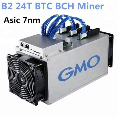 The first miner that was released using an asic chip was made by bitmain in may 2016 in china. B2 GMO World's 7nm Bitcoin Miner 24T ASIC Mining Machine From Best Source - Electronics computer ...