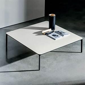 Table Basse Carrée Design : table basse carr e en c ramique slim 4 ~ Teatrodelosmanantiales.com Idées de Décoration