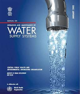 Manual On Operation And Maintenance Of Water Supply