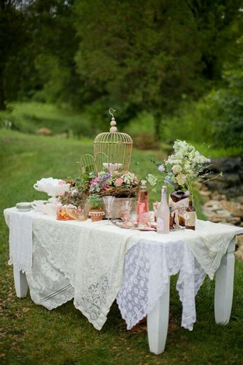 not shabby vintage home and garden shabby chic picnic table graduation party ideas pinterest picnic table shabby chic and