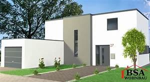 Häuser Im Bauhausstil : bauhausstil haus cube 110 ein puristisches hausmodell von bsa wohnbau ~ Watch28wear.com Haus und Dekorationen
