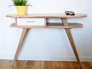 Console Scandinave Pas Cher : meuble console scandinave sofag ~ Teatrodelosmanantiales.com Idées de Décoration