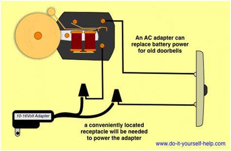 Wiring Diagrams For Household Doorbells Yourself