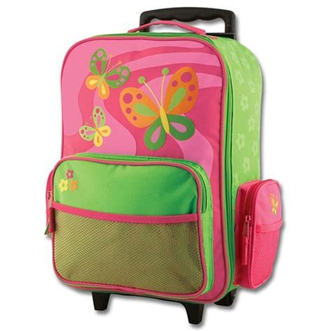 Stephen Joseph Butterfly Luggage   Get going with Rolling