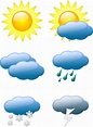 Style Guide   Clker   Weather symbols, Weather activities ...