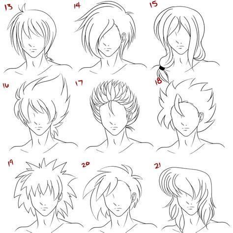 anime male hair style   ruuruu chan  deviantart