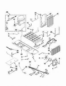 Unit Parts Diagram  U0026 Parts List For Model 10651183110