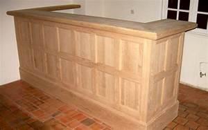 Bar En Bois : nous fabriquons des cuisines et bars en bois sur mesure entreprise menuiserie charpente amcb ~ Teatrodelosmanantiales.com Idées de Décoration