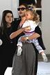 Irina Shayk, Lea De Seine Shayk Cooper leave kidville the ...