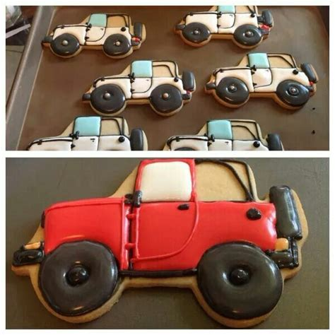 jeep cookies pin by tiffany green on designer cookies pinterest