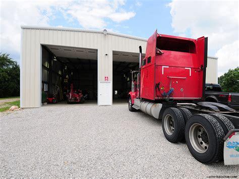 metal building truck garages steel truck garage buildings