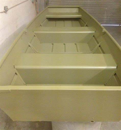 Sanding Aluminum Boat For Painting by Painting A 14ft Aluminum Boat The Hull Boating