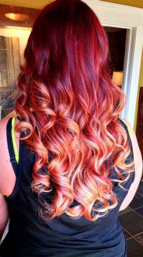 Best 25 Fire Hair Ideas On Pinterest Fire Red Hair
