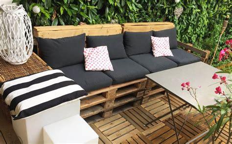 DIY du00e9co  Salon de jardin en palettes rapide u0026 facile - iletaituneveggie