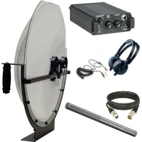 parabolic microphone  investigative