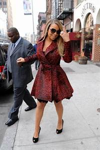 Mariah Carey Gives Nonsensical Feedback In Red Leopard