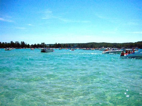 Rumor has it that national geographic calls this lake the 3rd most beautiful in the world. There's A Lake In Michigan With Caribbean Blue Waters And ...