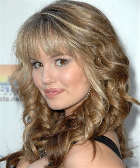 haircuts layers debby wavy formal hairstyle 2363