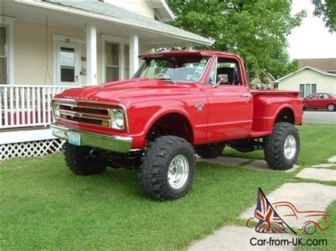 Chevrolet Stepside Chevy Monster Pickup Truck