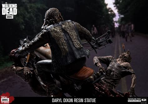Updated Photos Of The Daryl Dixon Resin Statue