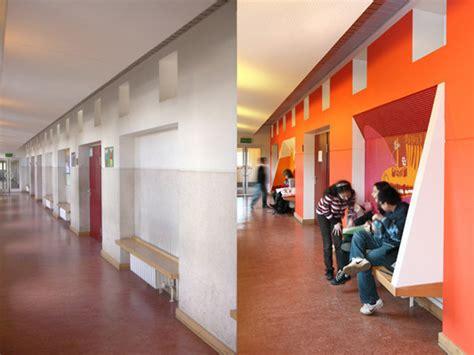 Sitzbank Flur Schule by Umbau Der Galilei Und Liebmann Schule In Berlin Akustik