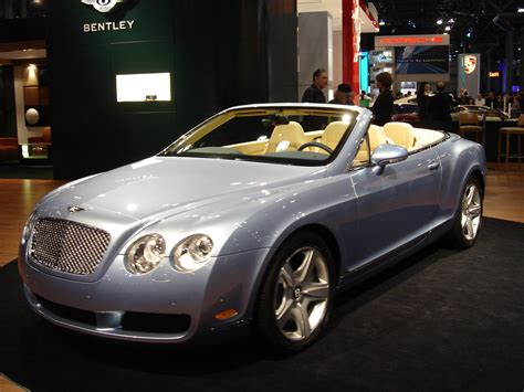 Bentley Continental Photo by Bentley Continental Gtc Technical Details History Photos