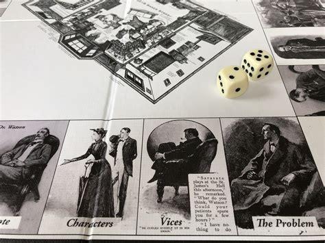 games holmes sherlock game board skip