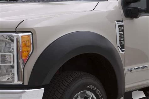 bushwacker fender flares ford   super duty extend