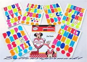 Buchstaben Zum Aufkleben : folienballon happy birthday gro e minni maus mit ~ Watch28wear.com Haus und Dekorationen