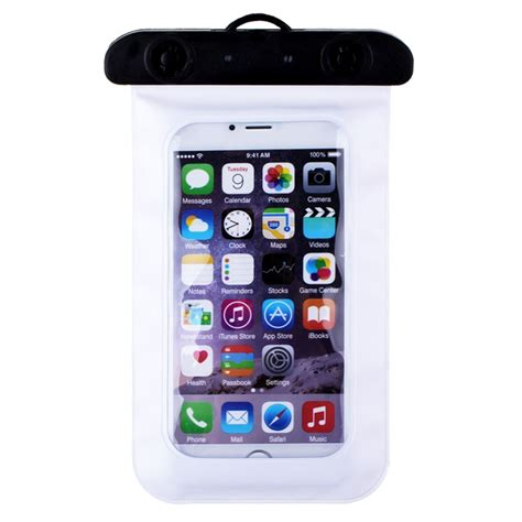 mp3 mobile transparent waterproof underwater pouch bag cover