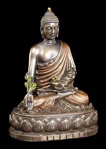 Buddha Figuren Deko : buddha figur bhaisajyaguru auf lotusthron veronese gott indisch deko statue ebay ~ Indierocktalk.com Haus und Dekorationen