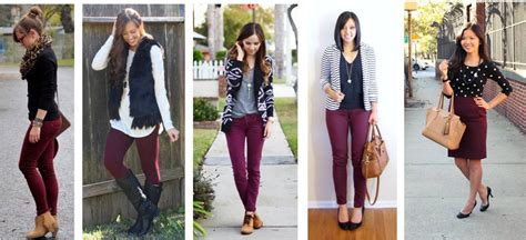 Pinspired Maroon and Black Outfits - The Style Files