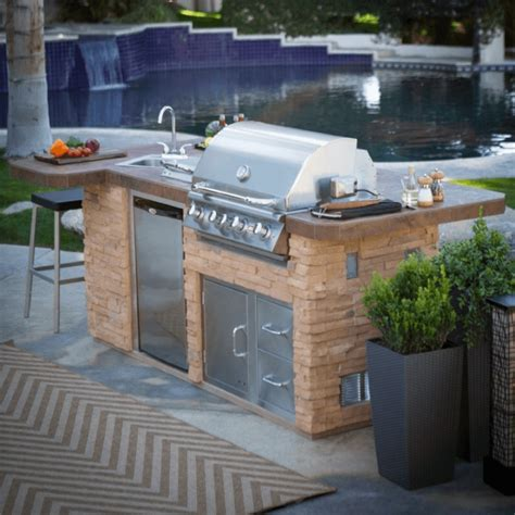 outdoor grill with sink outdoor kitchen island with sink