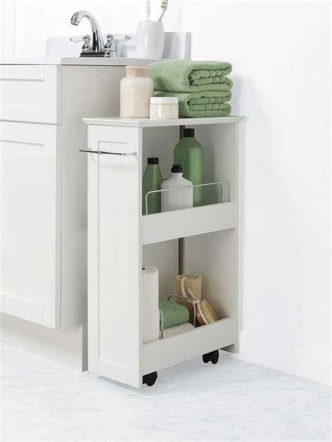Cabinet Organizers Bathroom by Bathroom Floor Storage Rolling Cabinet Organizer Bath