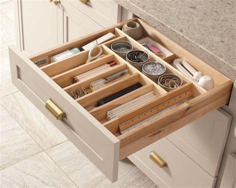 wooden drawer organizers kitchen keep your kitchen organized with built in drawer 1617