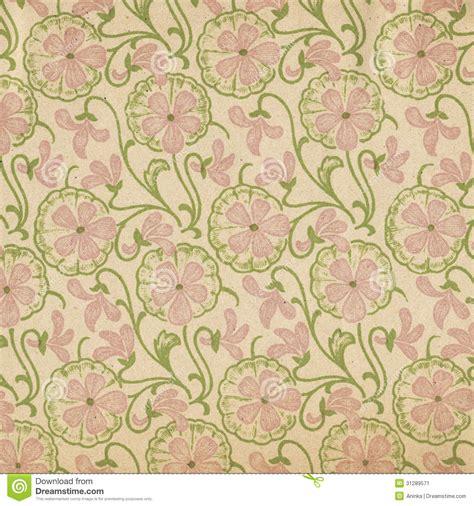 papier peint vintage papier peint de vintage fleurs roses image stock image