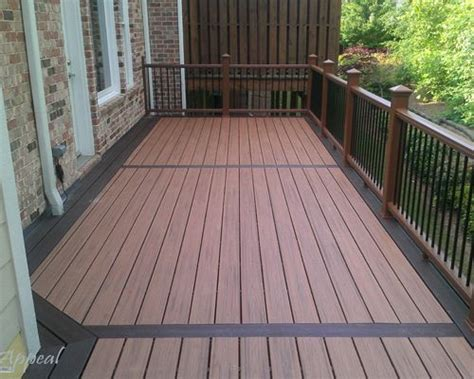 two tone decking houzz