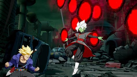 fused zamasu  dragon ball fighterzs  dlc character